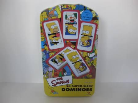 The Simpsons 28 Super-Sized Dominoes (CIB) (2003) - Board Game