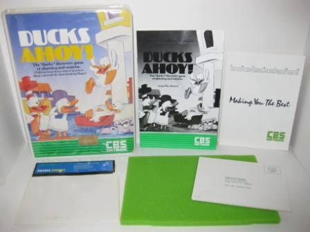 Ducks Ahoy! (CIB) - Commodore 64 Game