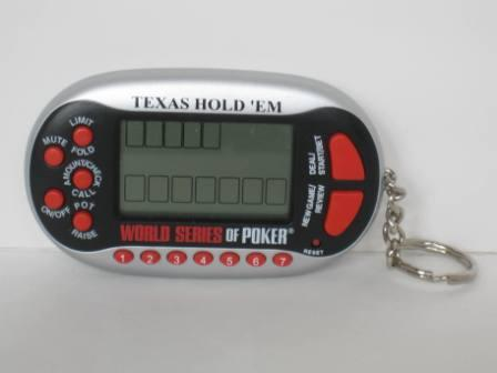 Texas Hold 'Em/World Series of Poker Key Chain - Handheld Game