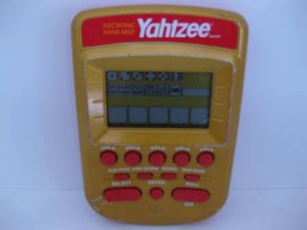 Electronic Handheld Yahtzee (Gold) (2002) - Handheld Game