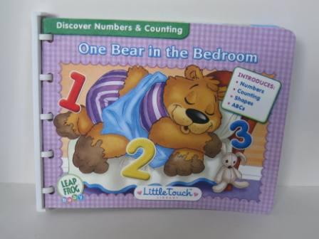 One Bear in the Bedroom (Numbers) - Little Touch Book Only