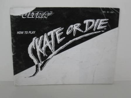 Skate or Die - NES Manual
