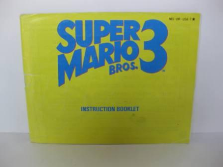 Super Mario Bros. 3 - NES Manual