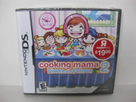 Cooking Mama 2: Dinner with Friends (SEALED) - Nintendo DS Game