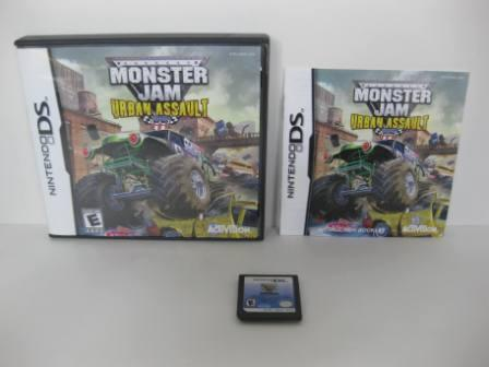 Monster Jam: Urban Assault - Nintendo DS Game