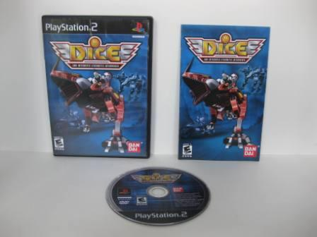 DICE: DNA Integrated Cybernetic Enterprises - PS2 Game