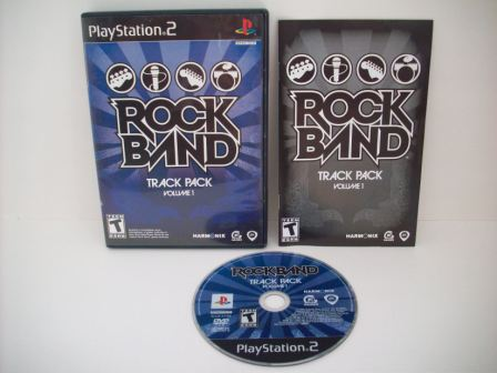 Rock Band Track Pack Vol 1 - PS2 Game