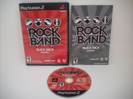 Rock Band Track Pack Vol 2 - PS2 Game