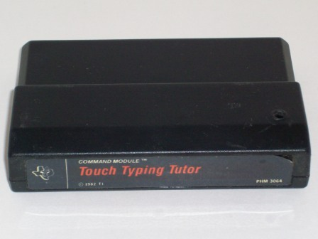 Touch Typing Tutor (Black Label) - TI-99/4A Game