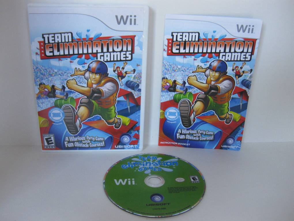 Team Elimination Games - Wii Game